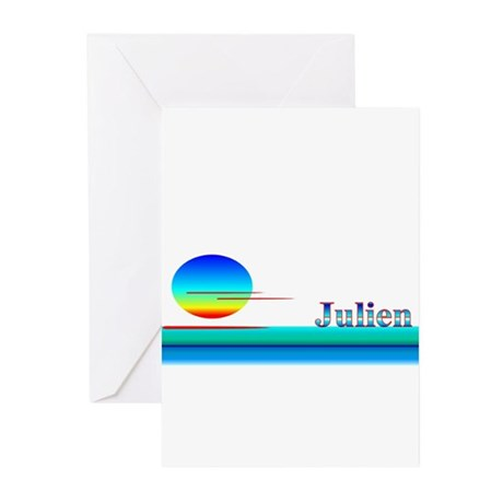 Julien Greeting Cards (Pk of 10)