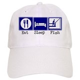Eat, Sleep, Fishing Cap