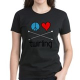 Peace Love Twirling Tee