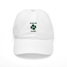 Personalized Kiss Me Im... Baseball Baseball Cap