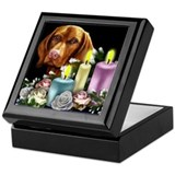 VIZSLA candles CHRISTMAS Keepsake Box