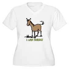 I love horses cute T-Shirt