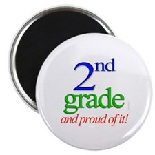 "Second Grade 2nd Grader 2.25"" Magnet (10 pack)"