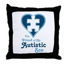 Proud of Son - Throw Pillow