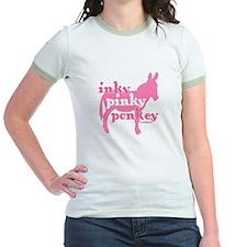 Inky Pinky Ponkey Ringer Tee