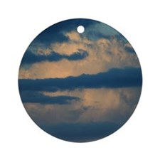Clouds Ornament (Round)