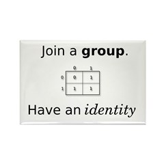Group Identity Rectangle Magnet