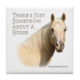 Something About A Horse Tile Coaster