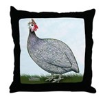 Lavendar Guinea Throw Pillow