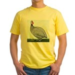Lavendar Guinea Yellow T-Shirt