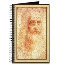 Da Vinci Self Portrait Journal