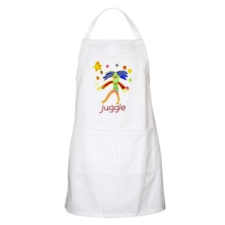 Kid Art Clown BBQ Apron