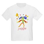 Kid Art Clown Kids Light T-Shirt