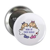 "Mom of Twin Girls 2.25"" Button (10 pack)"