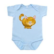 Fat Yellow Cat Body Suit