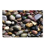 ...Wet Beach Stones... Postcards (Package of 8)