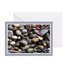 ...Wet Beach Stones... Note Cards (Pk of 10)
