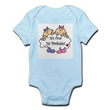 Twin Girls 1st Birthday Infant Bodysuit