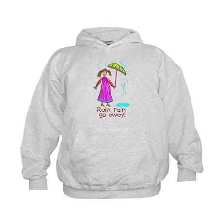 Kid Art Umbrella Kids Hoodie