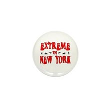 Extreme New York Mini Button (10 pack)