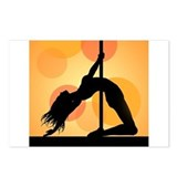 Pole Dancer One Postcards (Package of 8)