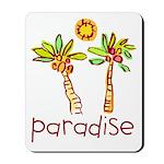 Kid Art Paradise Mousepad