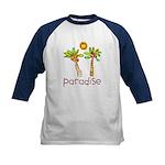Kid Art Paradise Kids Baseball Jersey