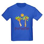 Kid Art Paradise Kids Dark T-Shirt