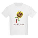 Kid Art Sunflower Kids Light T-Shirt