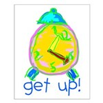 Kid Art Alarm Clock Small Poster