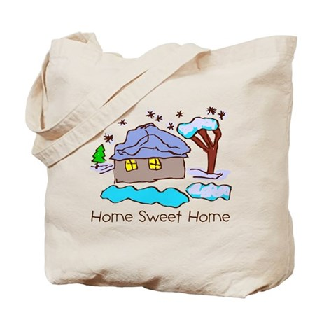 Kid Art Home Tote Bag