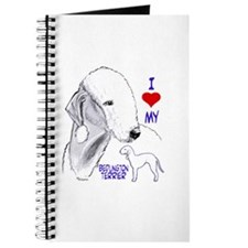 Cute Bedlington terriers Journal