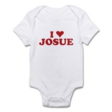 I LOVE JOSUE Infant Bodysuit