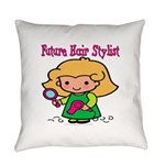 FunnyNewfuturehairstylist copy.png Everyday Pillow