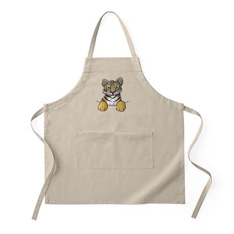 Pocket Tiger BBQ Apron