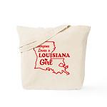 louisiana Girl Tote Bag