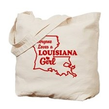 louisiana Girl Tote Bag