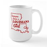 louisiana Girl Large Mug