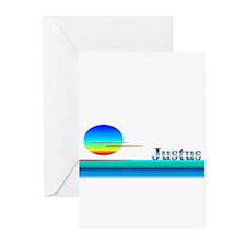 Justus Greeting Cards (Pk of 10)
