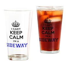 Funny Sideways Drinking Glass