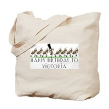 Happy Birthday Victoria (ants Tote Bag