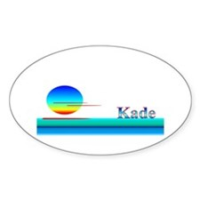 Kade Oval Decal