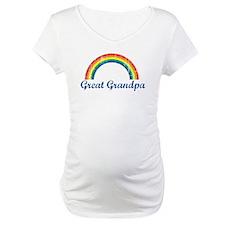 Great Grandpa (vintage-rainbo Shirt