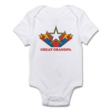 GREAT GRANDPA (retro-star) Infant Bodysuit