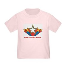 GREAT GRANDPA (retro-star) T