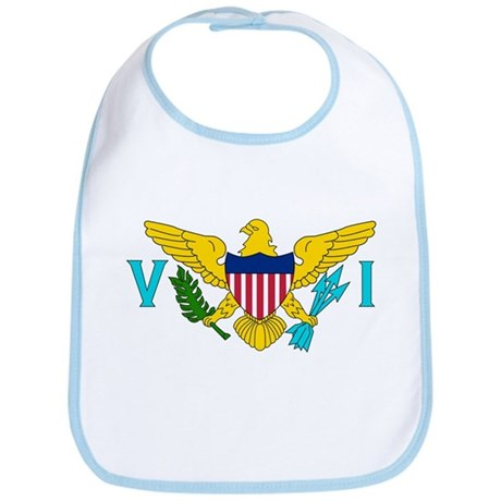 U.S. Virgin Islands Flag Bib
