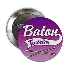 "Baton Twirler 2.25"" Button (100 pack)"