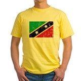 Vintage Saint Kitts and Nevis T