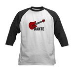 Guitar - Dante Kids Baseball Jersey