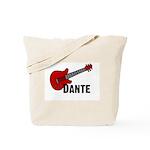 Guitar - Dante Tote Bag
